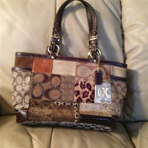 Patchwork Coach Purse - 73 coach handbags coach leather patchwork purse
