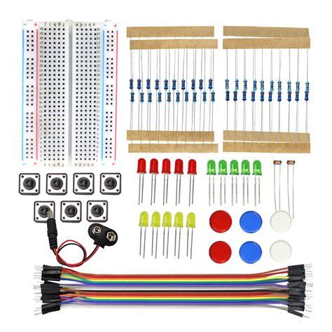 Starter Kit Uno R3 Mini Breadboard Led Jumper Wire Button For Arduino 1 starter kit uno r3 mini breadboard led jumper wire button for arduino diy kit in integrated