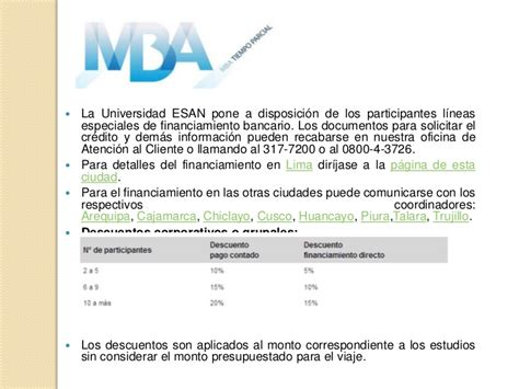 Mba Esan Arequipa by Ppt Mba De Esan