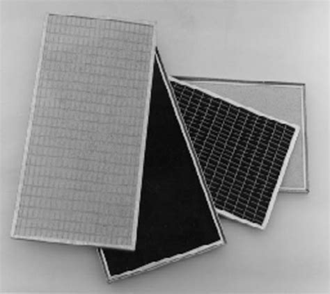 Activated Carbon Media Filter Air activated carbon air filter panel
