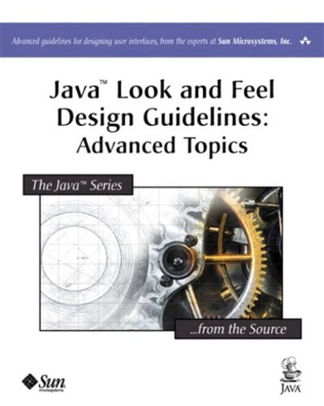 api design guidelines java java look and feel design guidelines advanced topics