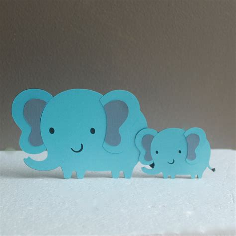 baby shower elephant cake topper and baby elephant baby shower cake topper elephant baby