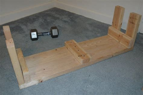 how to make wooden benches wooden weightlifting bench do it yourself project