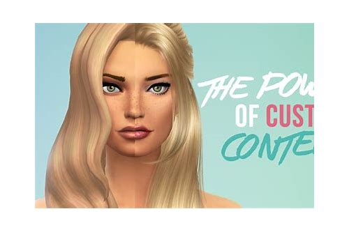 how to download sims 4 custom content