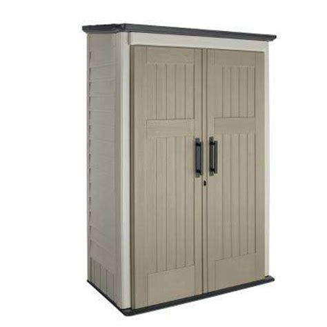 Home Depot Outdoor Storage Cabinets by Rubbermaid Sheds Garages Outdoor Storage Storage