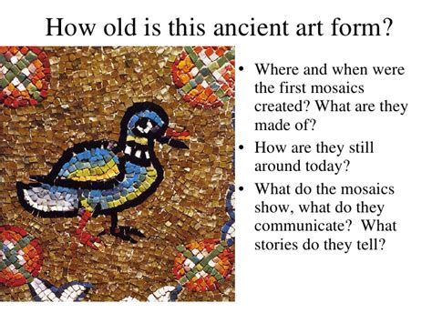 how are made mosaics