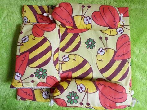 Baling Bantal Guling Bayi Grosir 4 paling murah kasur bayi plus bantal dan dua guling motif lebah kuning baju bayi celana bayi