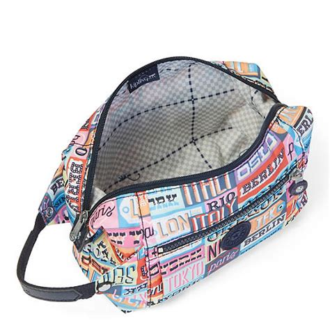 Kipling Aiden Toiletry Bag aiden printed toiletry bag hello weekend kipling
