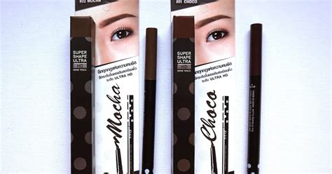malissa shape ultra hd brow pencil in mocha and choco review swatch the junkee