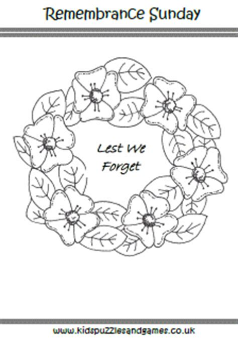 poppy wreath coloring page welcome to kids puzzles and games kids puzzles and games