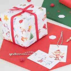 christmas gift wrap sets and wrapping paper