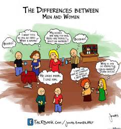 Men And Women Memes - the differences between men and women by jonaszimmerart