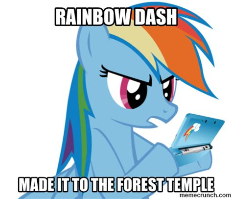 Rainbow Dash Meme - rainbow dash