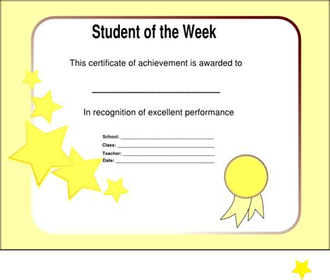 Clip Of The Week by Student Of The Week Clip At Clker Vector Clip