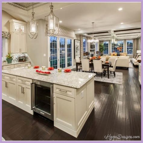 Open Concept Kitchen Designs 10 Best Open Concept Kitchen Family Room Design Ideas 1homedesigns
