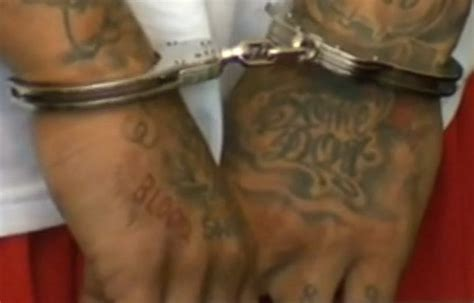 examining aaron hernandez s blood tattoo on his right