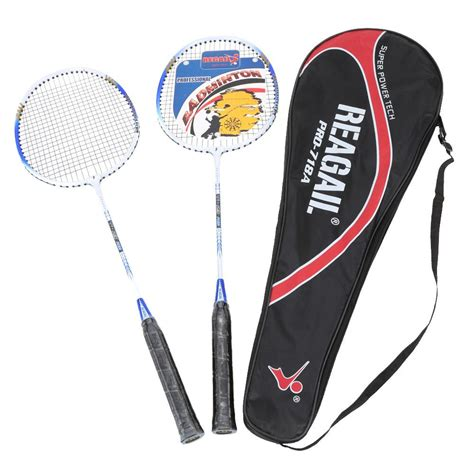 Raket Badminton regail raket badminton 2 pcs blue jakartanotebook