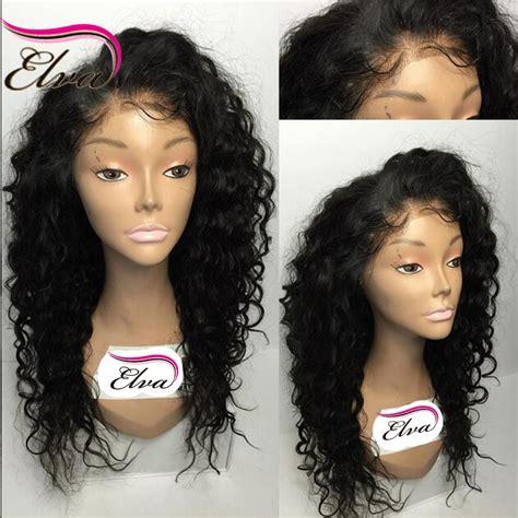 front hair smoothing back wavy 7a silk top curly wig peruvian virgin hair glueless silk