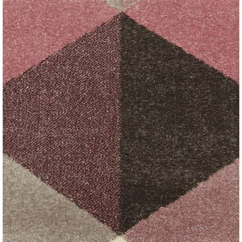 teppich beige rosa teppich design rechteckig skandinavischen stil geo 230cm
