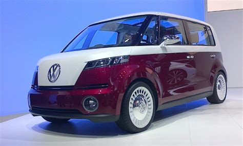 future volkswagen van no bull volkswagen bulli concept electric van powered by
