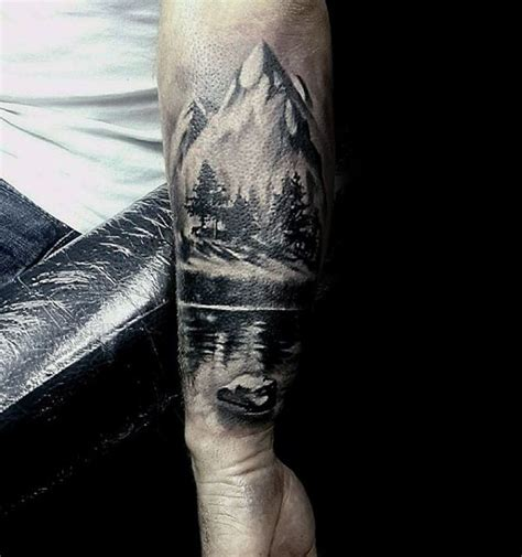 forest tattoos forearm forest designs ideas and meaning tattoos