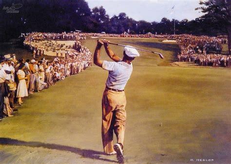 ben hogan swing 1953 art4golfers gallery slideshow
