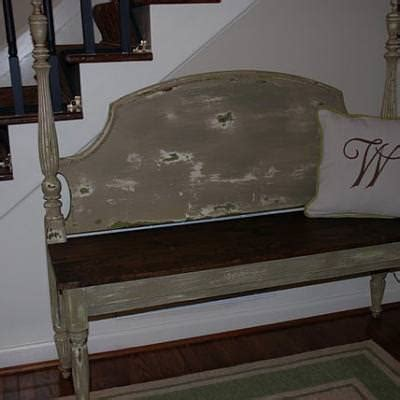 making a bench from a headboard how to make a bench from a headboard trash to treasure