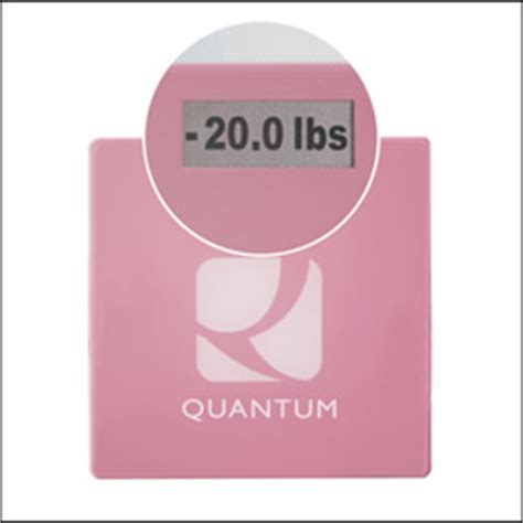 Quantum Bathroom Scale Finally A Bathroom Scale That Removes Fear Shame And