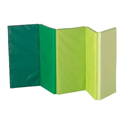 ikea mat plufsig folding gym mat green 78x185 cm ikea