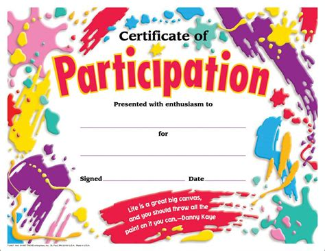 science fair participation certificate template sure seems to lots of those so called 100 and