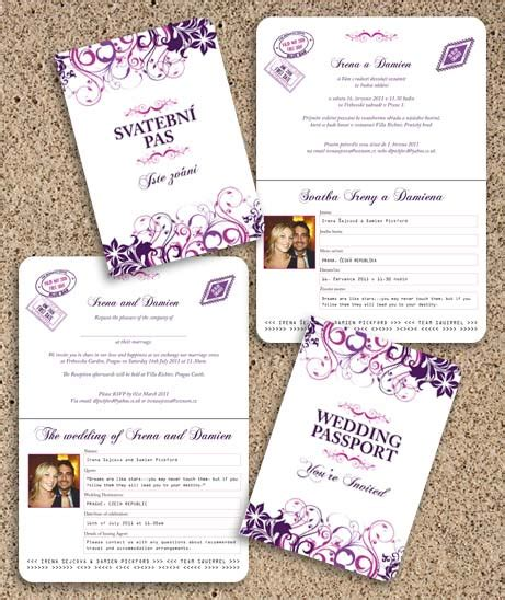 Bilingual Wedding Invitation Bilingual Wedding Invitation Templates