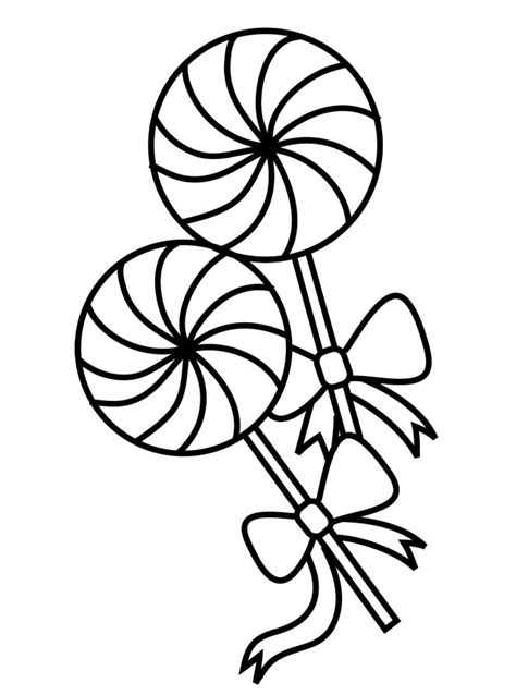 free lollipop coloring pages