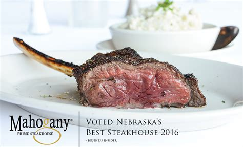 Hals Steakhouse Gift Cards - mahogany prime steakhouse named nebraska s best steakhouse hal smith restaurants