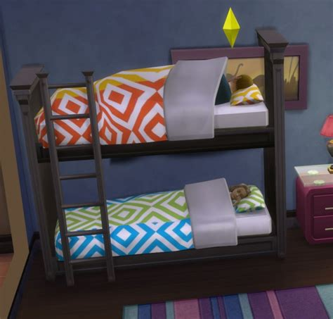 sims 4 bunk beds functional bunk bed by ugly breath at mod the sims 187 sims