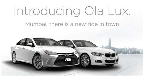 Car Types In Ola Cabs by Ola Cabs Wiki Founders History Revenue Career