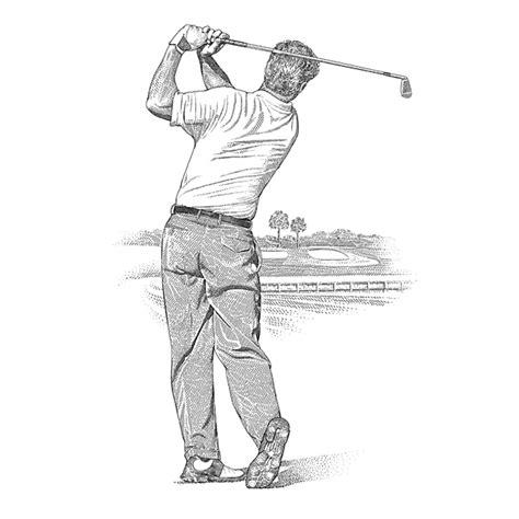 swing illustration golf swing archives golf illustration