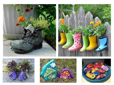imagenes de jardines con reciclado como hacer un jard 237 n con materiales reciclados