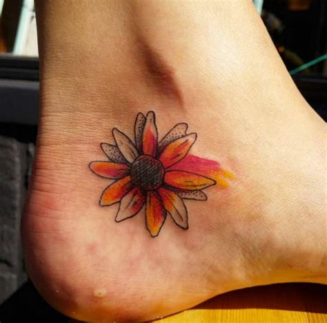 pictures tattoos watercolor sunflower designs ideas and meaning