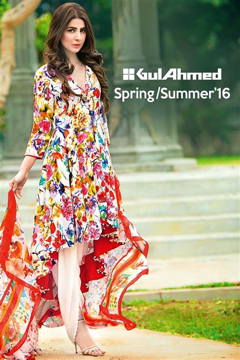 New Bamboo Family Dress gul ahmed summer bamboo silk collection 2016 1
