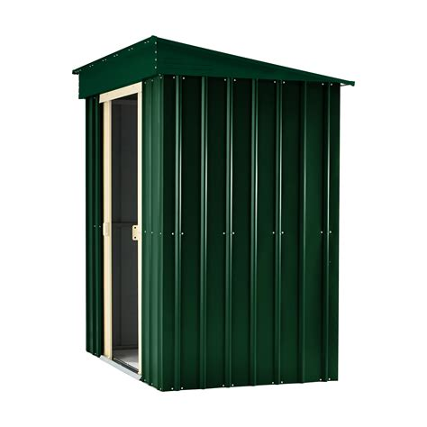 Pent Shed 6 X 3 by 6 X 3 Premier Easyfix Heritage Green Pent Shed 1 83m X 0