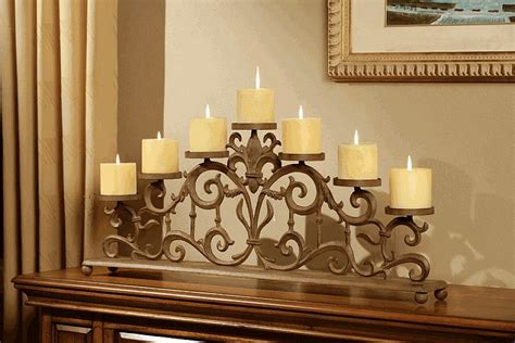iron fireplace candle holders fireplaces