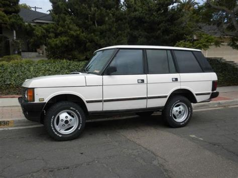 range rover hunter buy used 1991 range rover classic hunter addition in san