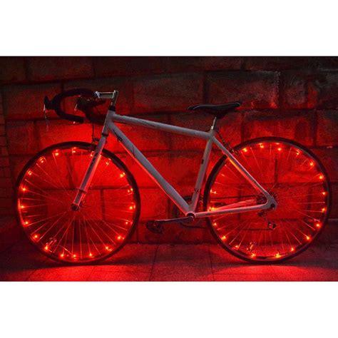 lights on wheels of a bicycle bicycle 20 led bike cycling lights led wheel spoke