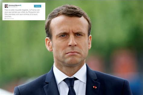 emmanuel macron reaction attaque 224 londres la r 233 action d emmanuel macron