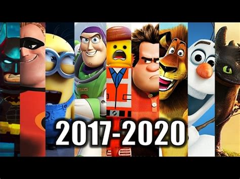 upcoming animated movies 2017 2020 dailyvideo