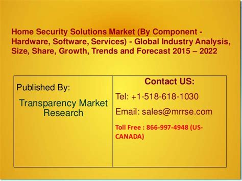 home security solutions market by component hardware
