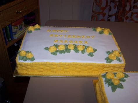 Retirement Cake Decorations by Decorating Tips Tricks And Ideas Retirement Cakes