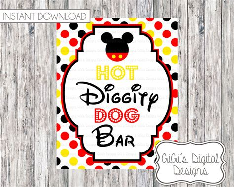 mickey mouse diggity mickey mouse diggity sign pictures to pin on pinsdaddy