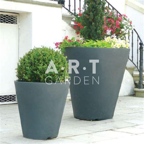 gros coussin exterieur 350 pot rond vase gros pot de fleur pour jardin et terrasse papi