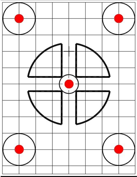 printable targets for zeroing printable rifle targets 100 yards related keywords
